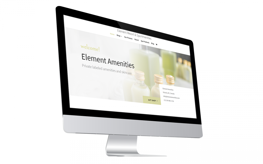 Element Amenities – Online Store Project