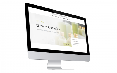 Element Amenities – Online Store Project